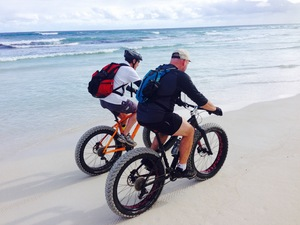 Cycle along the beaches of Margaret River
