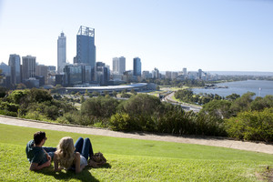 Enjoy the spectacular views over Perth City from Kings Park