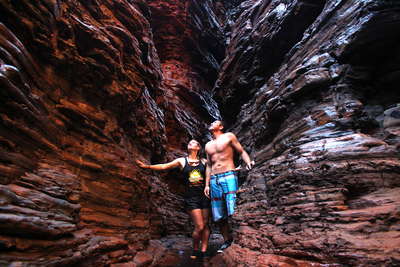 Explore Karijini National Park on a 9 day tour to Broome