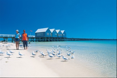 Visit Busselton Jetty on a 2 day tour to Margaret River.