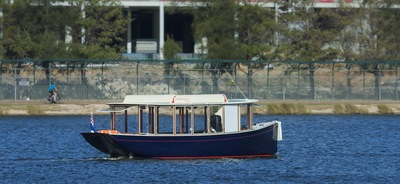 Cruise the Swan River on board the Little Ferry Co, a solar powered ferry
