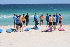 Join a surfing lesson in Scarborough Western Australia