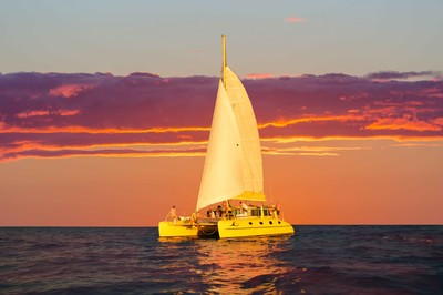 Enjoy a twilight sail in Fremantle Western Australia