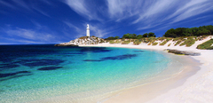 Rottnest Island Ferry from Perth with Coach Tour