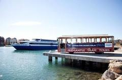 Spend the day exploring Fremantle on a tram tour with a swan river cruise