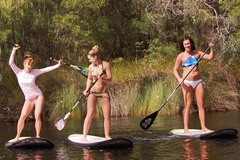 Spend the day tasting wine and stand up paddle boarding in Margaret River