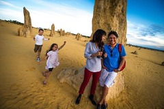 Explore the Pinnacles Desert on a full day tour from Perth
