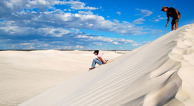 Lancelin sand dunes with Sightseeing Pass Australia