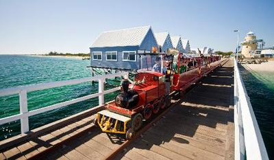 Explore the Busselton Jetty on a day tour from Perth