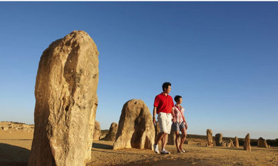 Explore the pinnacles desert on a day trip from perth