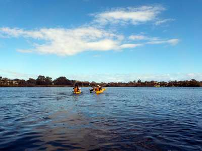 Book a kayaking tour with Sightseeing Pass Australia