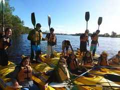 Enjoy a half day kayaking the Swan River with Riverbeds and Sightseeing Pass Australia