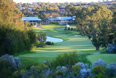 27 hole championship golf course at Joondalup Resort Perth package with Sightseeing Pass Australia