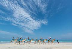 Cable Beach is famous for its Camel Rides and can be booked with Sightseeing Pass Australia