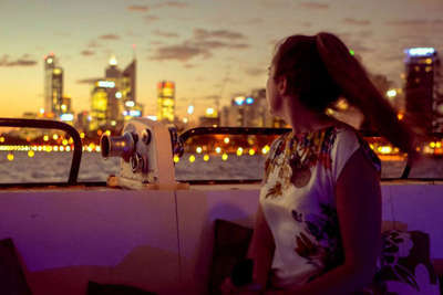 Perth City Lights Dinner Cruise with Sightseeing Pass Australia