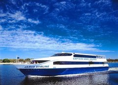 Enjoy a Captian Cook Cruise of the Swan River and discover Perth City