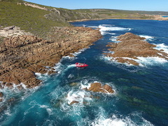 Breathtaking scenery when you join a Jet Adventures Sea Safari in the Geographe Bay region of Western Australia