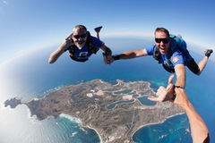 Skydive Rottnest Island for Fathers Day