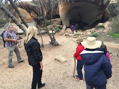 Exploring the caves of Wave Rock is exciting for kids as well as adults