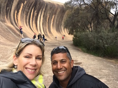 Lisa & Chad D'Souza explored Wave Rock and highly recommend booking a day tour to ensure you receive the information and history of the region