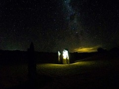 Night Tour at the Pinnacles with some stargazing