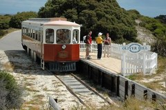 Oliver Hill Train & Tunnel Tour - 12.30pm Rottnest Island