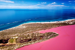 Abrolhos Islands, Pink Lake & Gorges Grand Flight