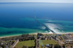 Jump on the Busselton Jetty Train and enjoy a tour of the Underwater Observatory.  Book with Sightseeing Pass Australia today!