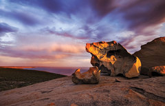Visit the iconic Remarkable Rocks on this full day Kangaroo Island Tour | Book today with Sightseeing Pass Australia
