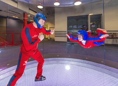 Indoor skydiving at iFLY is a popular activity for kids and families.  Whether it's a birthday or gift, book online today with Sightseeing Pass Australia!