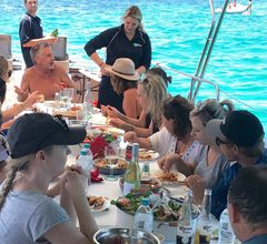 Enjoy an experience with friends or maybe celebrate an occasion on this incredible all inclusive 5-course Deluxe Rottnest Seafood Cruise.  Book with Sightseeing Pass Australia today for the best rates!