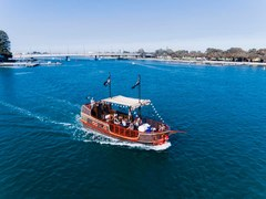 Jump on the newest tour in Mandurah the Pirate Ship cruise which is fun for the whole family.  Sightseeing Pass Australia can book this for you online today!