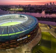 Optus Stadium Perth AFL Packages include hotel, transfers and a Swan Valley Wine Cruise