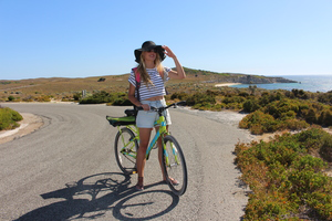 Bike around Rottnest Island, see the sights and meet the quokkas
