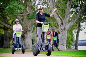 Explore Perth City with a riverside segway tour