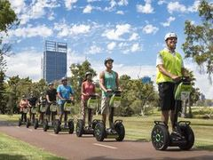 Explore the Perth city with a guided segway tour