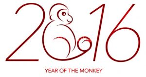 2016 is the Chinese New Year of the Monkey
