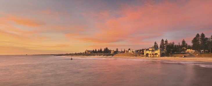 Cottesloe Beach Sunset Perth Western Australia