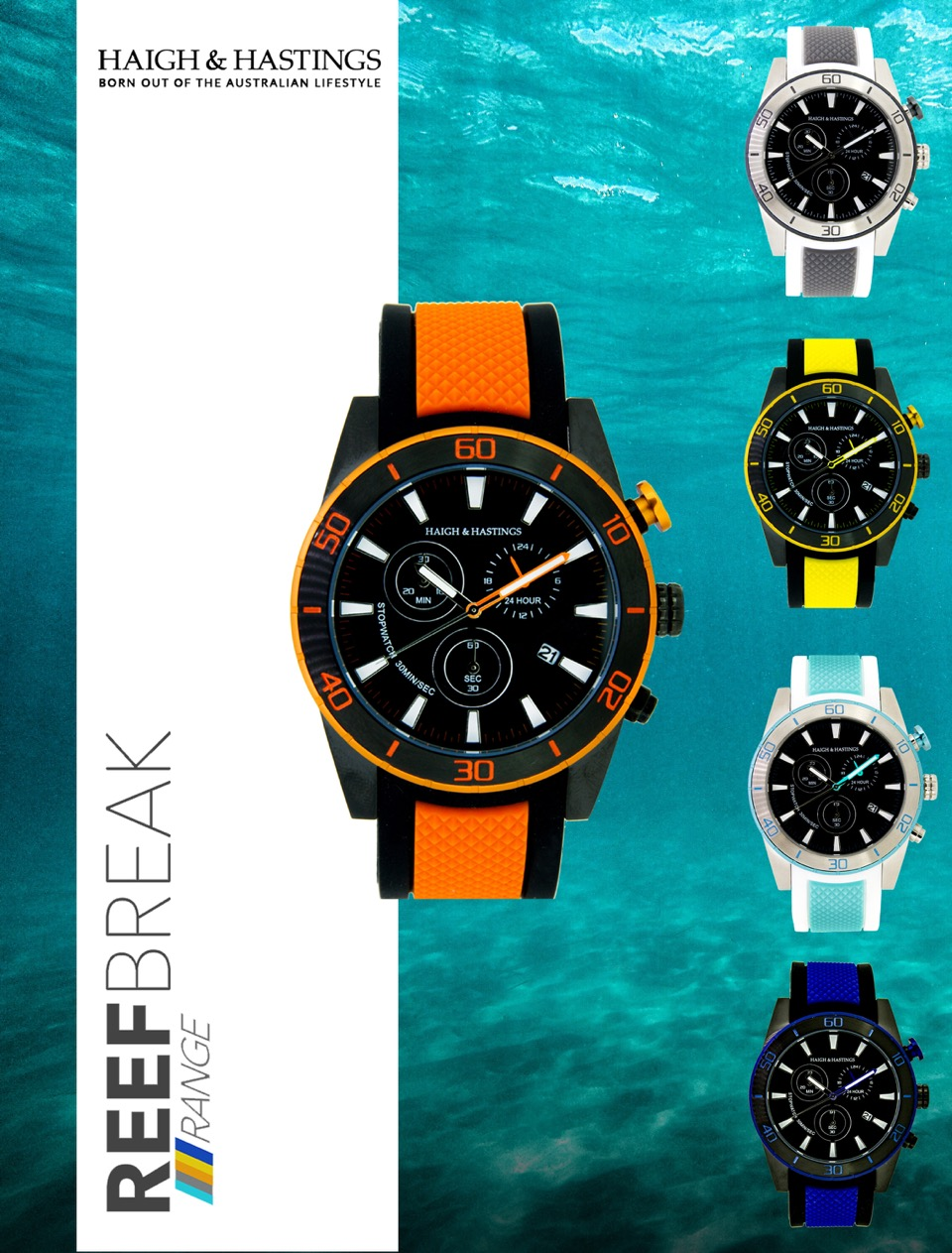 Celebrate Father's Day with Sightseeing Pass and go in the draw to win a reef break watch from Haigh and Hastings