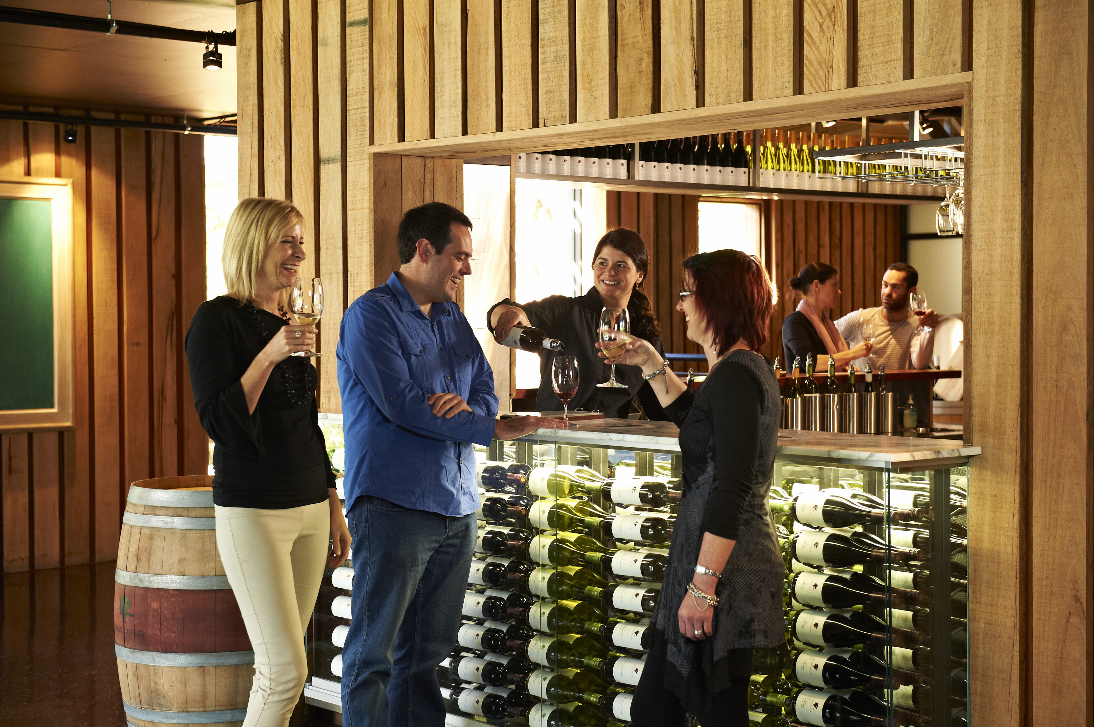 Visit Vasse Felix winery when you're in Margaret River