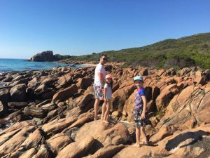 family camping trips in Margaret River